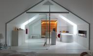 Biochimenea – ambiente romántico en el cuarto de baño