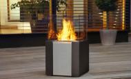 La chimenea de bioetanol – el primer soplo de la primavera