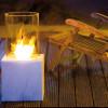 La chimenea de bioetanol- la naturaleza bella y longeva