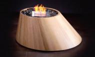 Inspiraciones de madera – biochimenea Cone, Vesta Major y Vesta Minor