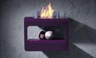 Bio-chimenea Open – fuego en su totalidad
