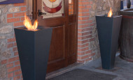 Bio-chimeneas Torpe – creatividad italiana de Altro Fuoco