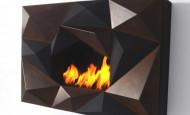 Bio-chimenea Crystal – llamas rodeadas de cristal
