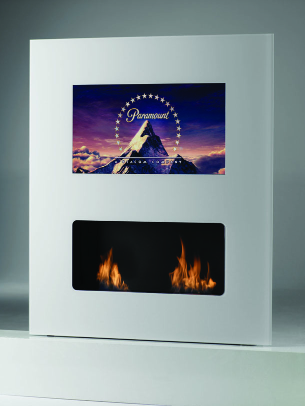 Chimeneas decorativas muebles con car cter chimeneas - Chimeneas decorativas bioetanol ...