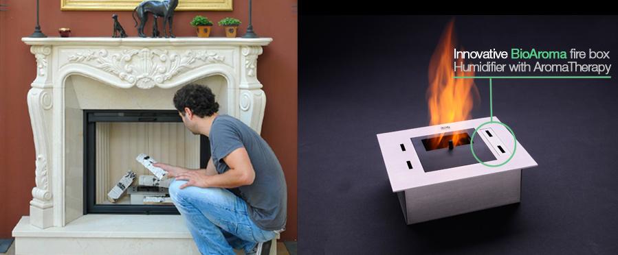 biokamin-Bioethanol Burners Firebox 011 bio fire