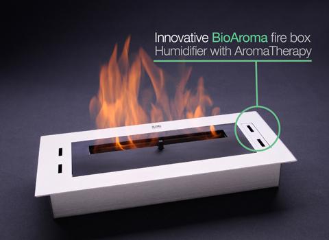 biokominek-Bioethanol Burners Firebox 02 bio fire AKOWOOD