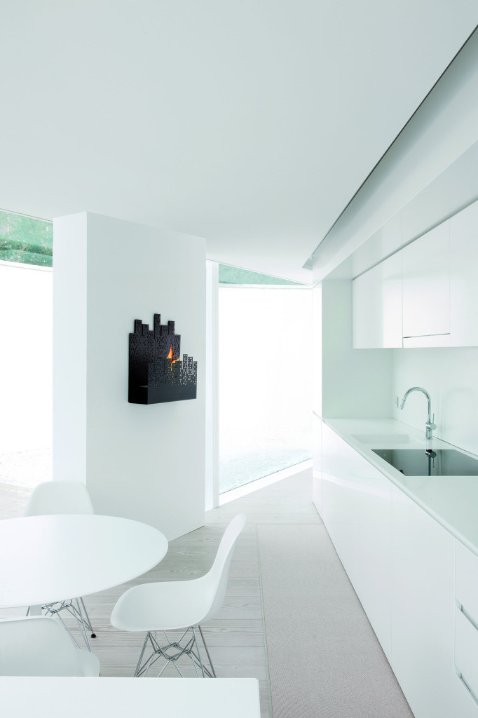 Bio-chimenea Nerone – luz urbana en la comodidad de su salón ...
